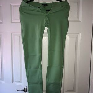 Pants - Green stretchy pants